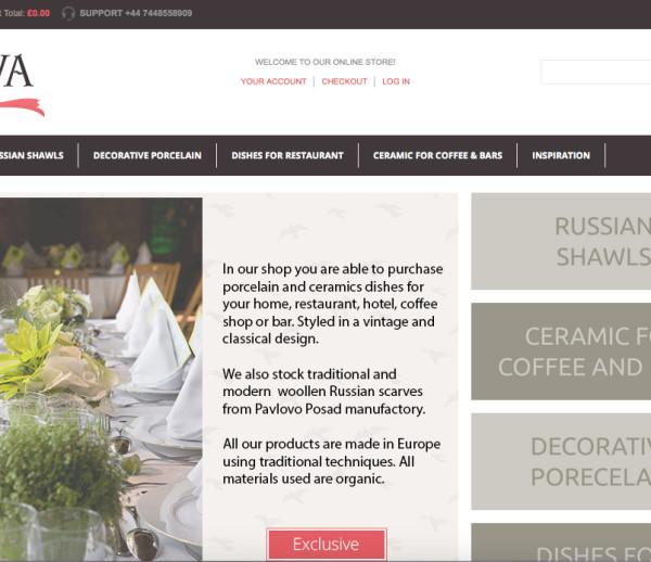 Iva-Scarves vintage boutique e-shop