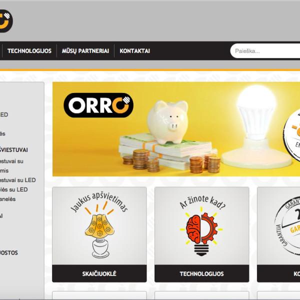 Orro website and custom module development